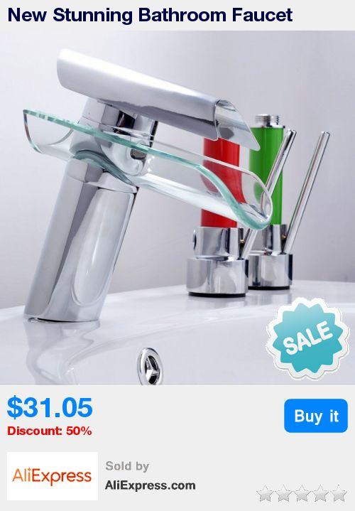 New Stunning Bathroom Faucet Advanced Modern Glass Waterfall contemporary Chrome Brass Bathroom basin sink Mixer waterfall Tap * Pub Date: 09:08 Jun 28 2017