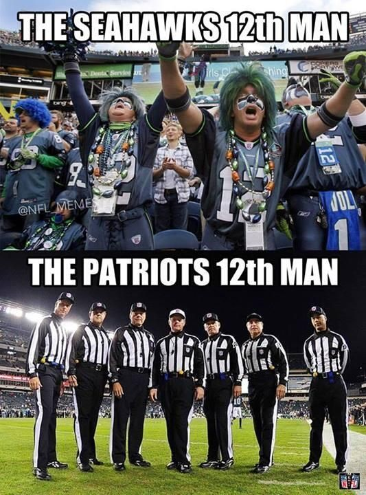 """""""We didn't get any help from the refs"""" -Patriots *pays refs before game*"""