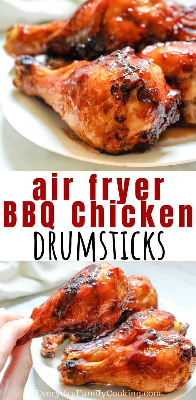 Air Fryer BBQ Drumsticks Recipe in 2020 Air fryer
