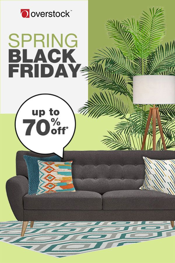 Start Saving Up To 70 Off On Home Essentials During Overstocks Spring Black Friday Sale