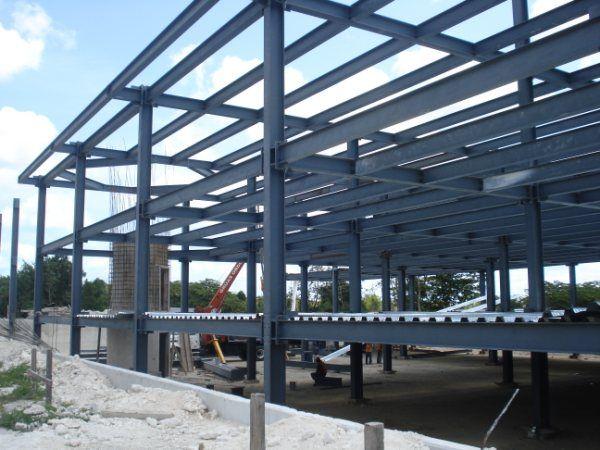 Estructuras metalicas para terrazas cool balcones for Terrazas metalicas