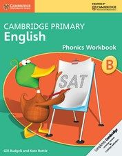 Cambridge International Primary: English Phonics Workbooks A and B are available