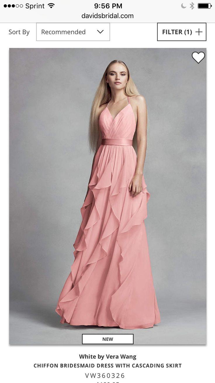 Perfecto Diseñador De Vestidos De Dama De Vera Wang Adorno ...
