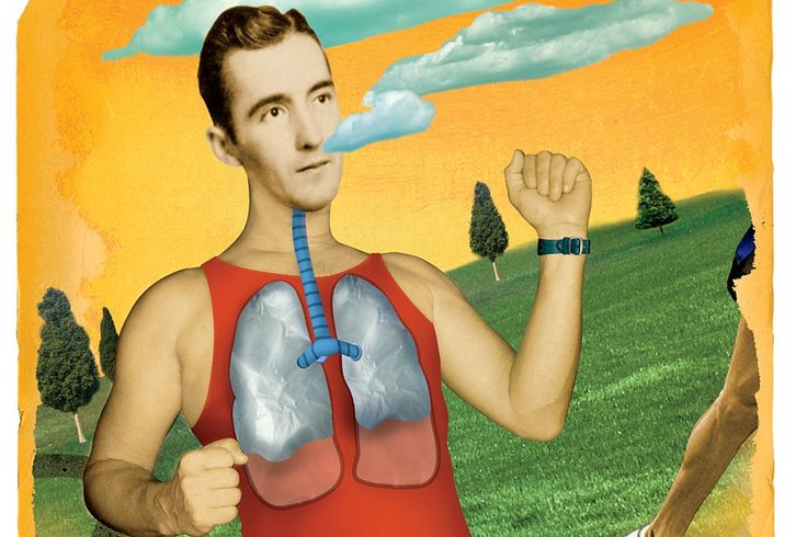 Need more air? Deep breathing can help you run longer with less effort.