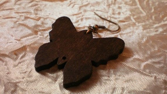 Wooden butterfly by katerinaki106 on Etsy, $4.50