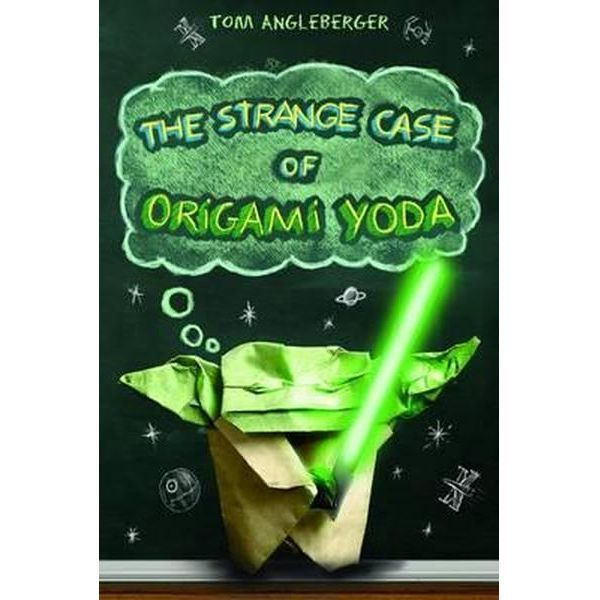The Strange Case of Origami Yoda By Tom Angleberger A book where an Origami Finger Puppet is the star and gives advice to Tweens. Sounds like a book that would not normally have been on my bookshelf as a child!…