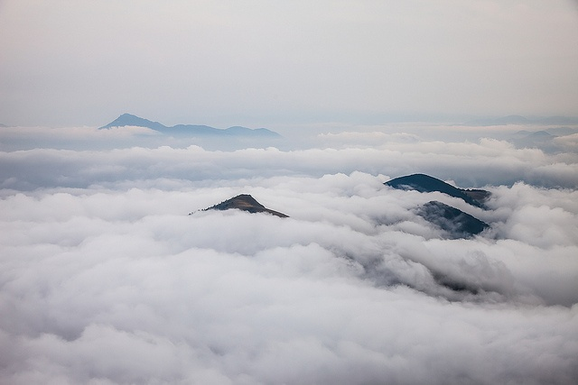 Slovakian islands. Inversion view from Velky Rozsutec by Kamil Ghais via Flickr