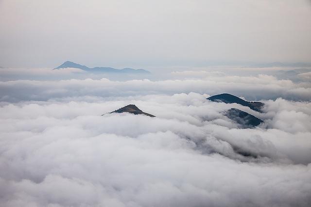 Slovakian islands. Inversion view from Velky Rozsutec by Kamil Ghais via Flickr