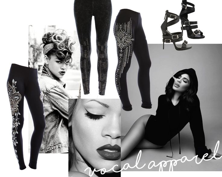 VOCAL APPAREL LEGGINGS CLASSY BADASS #WOMENSFASHION #WHOLESALEFASHION #LEGGINGS #BADASS #RIHANNA