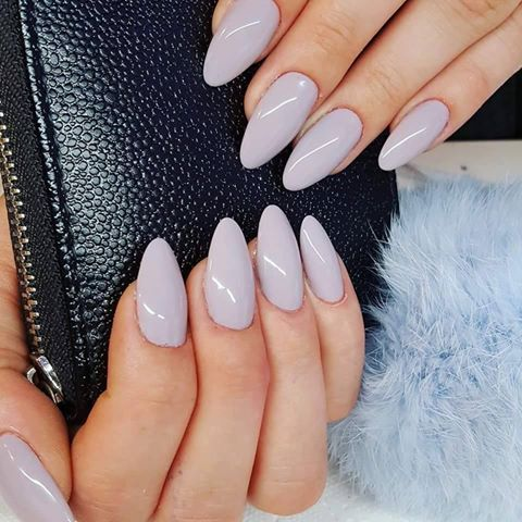 Sin City Gel Brush by Renata Bartosik, Indigo Young Team #nails #nail #grey… http://hubz.info/105/nice-nails-hena-tattoo-and-silver-jewelry