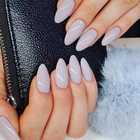 Sin City Gel Brush by Renata Bartosik, Indigo Young Team #nails #nail #grey… http://hubz.info/105/nice-nails-hena-tattoo-and-silver-jewelry
