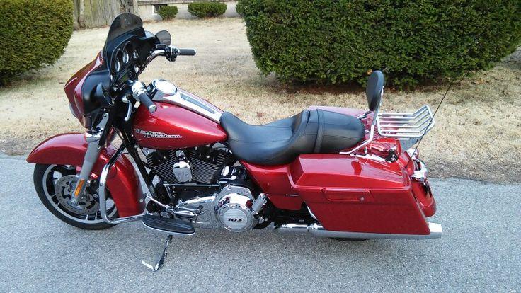My Harley 2012 Street Glide ~ Red Hot Sun Glow