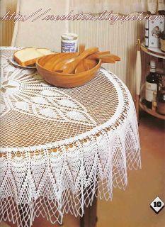 Vilma crochet e cia: toalha de mesa