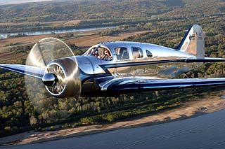 Not a racer but, in my opinion...the Spartan Executive is the most beautiful airplane ever built