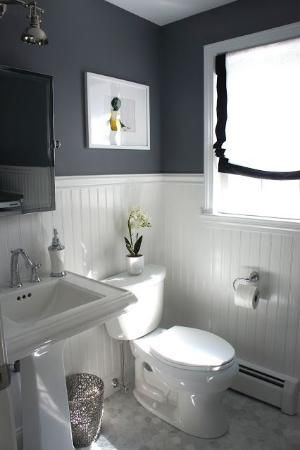 Total Remodel Half Bath & Laundry Room at Home with Baxter by johnnie
