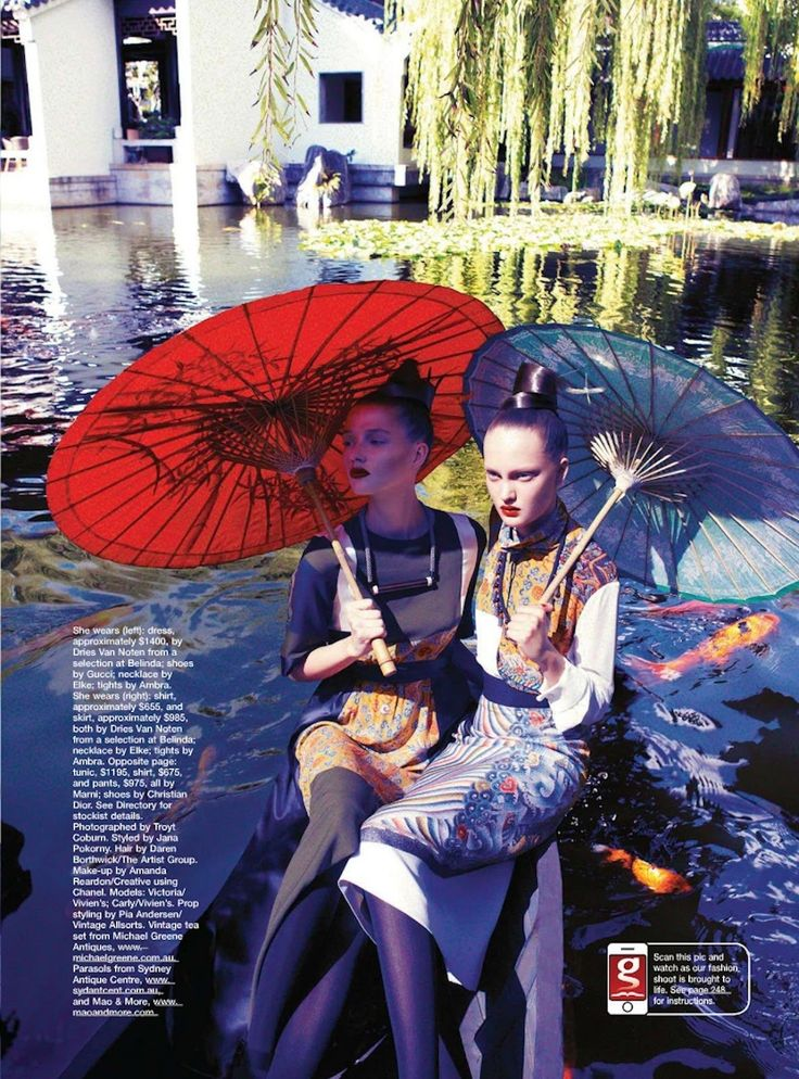 orient express | Victoria Anderson, Carly Engleton | Troyt Coburn #photography | Marie Claire Australia September 2012