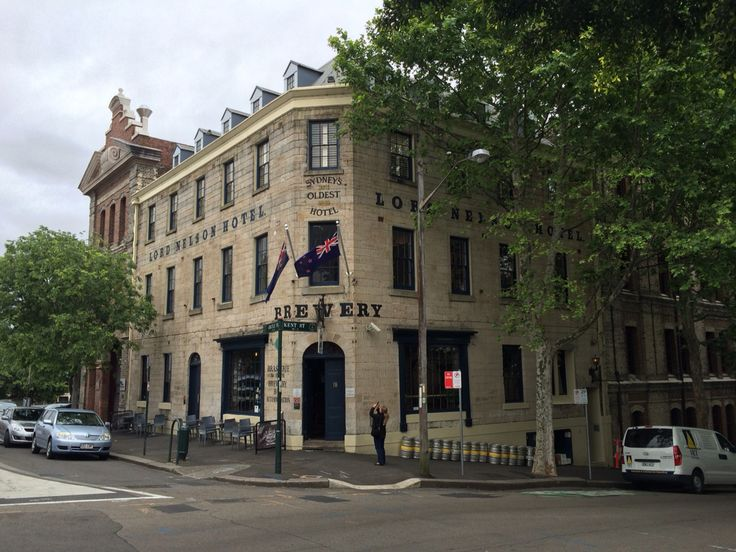 Lord Nelson's, Australia's oldest pup brewery...The Rocks, Sydney.  Try The Old Admiral at 6.1%.