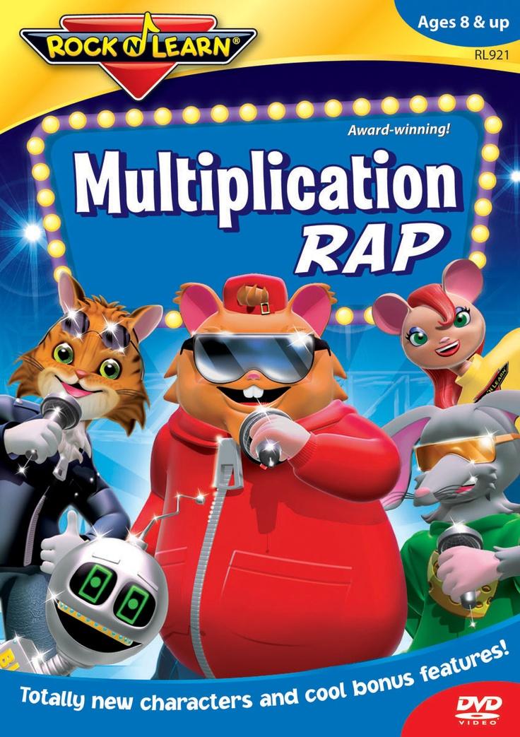 math worksheet : 114 best multiplication images on pinterest  teaching math  : Multiplication Rap Song