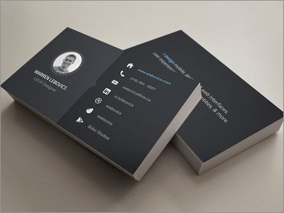 https://dribbble.com/shots/1376263-Business-Card