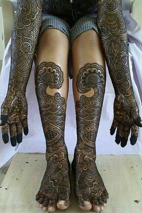 Amazing Henna Tattoos
