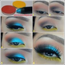 30 Glamorous Eye Makeup Ideas For Dramatic Look 9 #EyeMakeupForGlasses
