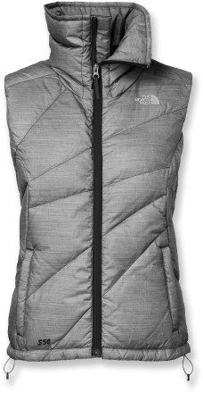 NF vest...super warm but Arcteryx far out performs NF in the long run. I've got black, blue, white, silver and brown in NF that I'm giving away.