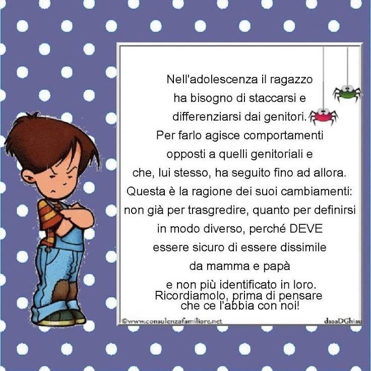 L'appuntamento di oggi con l' #adolescenza:  Perché mio #figlio è così diverso da prima? Che gli abbiamo fatto? #educazione #figli #crescita #infanzia #adolescenti #genitore #psicologiainfantile #mamme #bambino #famiglie #papà #consulenzagenitoriale #psicopedagogia #dssaDGhisu