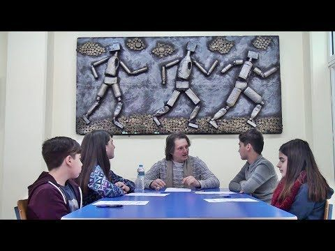 ΓΝΩΜΗ ΚΙΛΚΙΣ ΠΑΙΟΝΙΑΣ: Οι δημοσιογράφοι του 3ου Γυμνασίου Κιλκίς, ανακρίν...