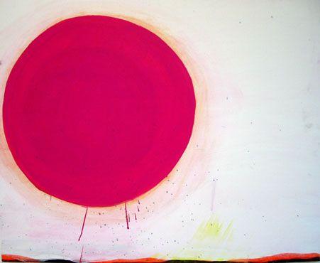 Iben Munnecke. Art. Akryll on canvas.. DOT