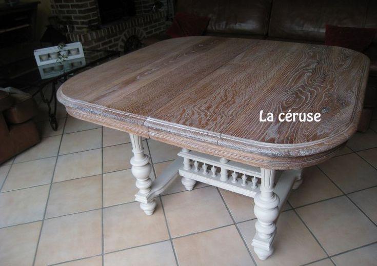 La table henri ii revisit e mobilier henri ii - Table basse qui se transforme en table haute ...