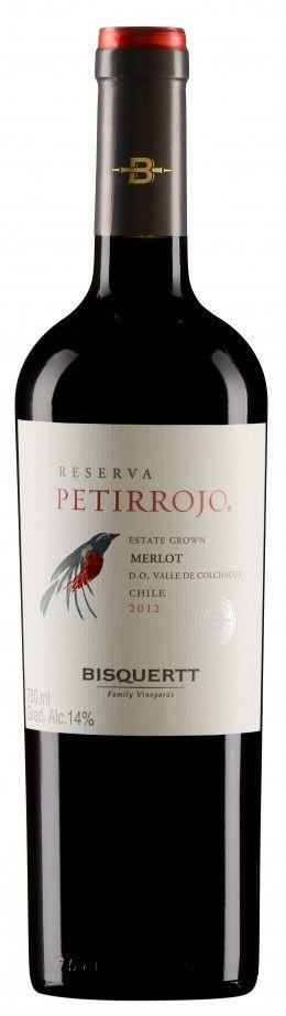 Petirrojo Reserva Merlot 2013