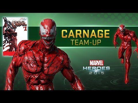 Marvel Heroes - Carnage Team-Up Trailer - YouTube #SonGokuKakarot