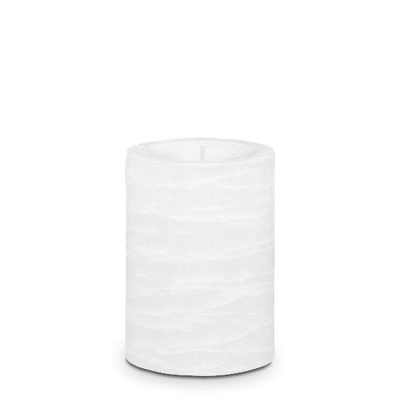 Tuoksuton valkoinen 7x10 cm GloLite Pilarikynttilä