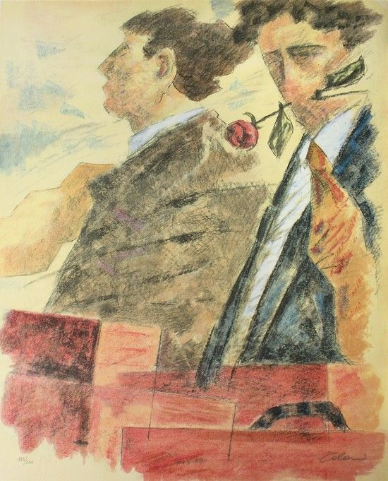 Partenze, Giampaolo Talani, http://www.galleria-galp.it/shop/index.php/artisti/giampaolo-talani/partenze-284.html