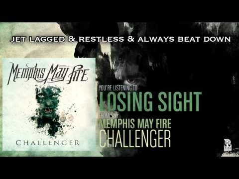 Memphis May Fire - Losing Sight (Feat. Danny Worsnop)  (Official Lyric Video - New Album June 26)