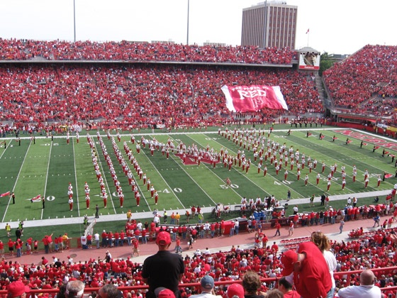 have season tickets to Husker football games.