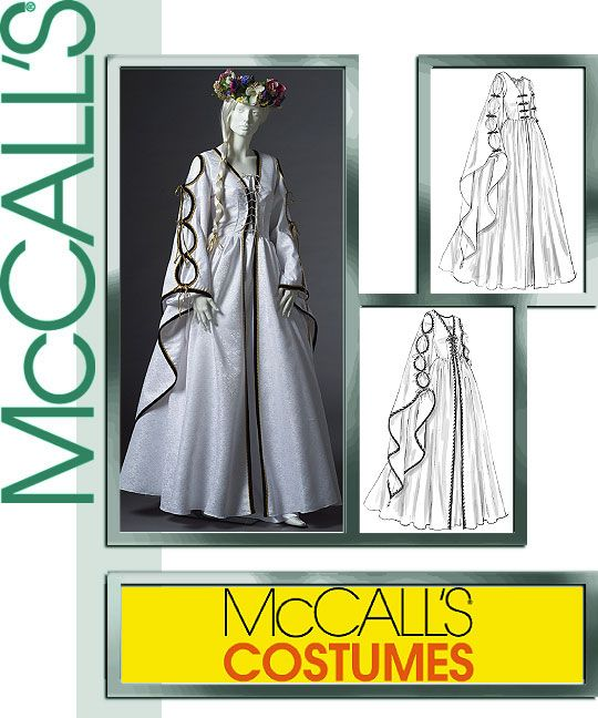 Renaissance Faire Wedding Dress Gown Costume History Mccalls: 14 Best Images About Winifred Sanderson Hocus Pocus