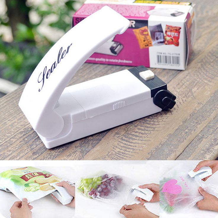 Portable Reseal Save Handy Plastic Food Saver Storage Bag Heat Sealing Machine Bag Sealer Keep Food Fresh #clothing,#shoes,#jewelry,#women,#men,#hats,#watches,#belts,#fashion,#style
