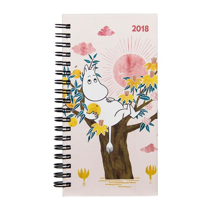 Moomin pocket calendar 2018 by Anglo-Nordic - The Official Moomin Shop