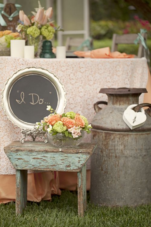17 best images about baby shower ideas on pinterest for Milk can table ideas
