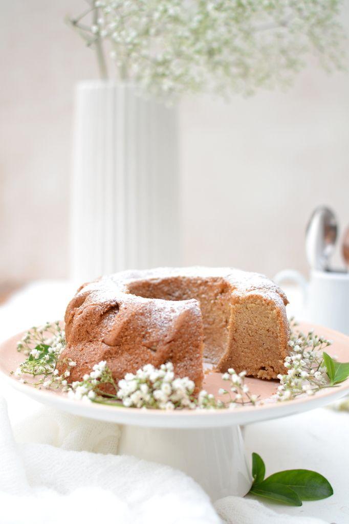 Gâteau au yaourt amande-abricot [ 100% végétal ]