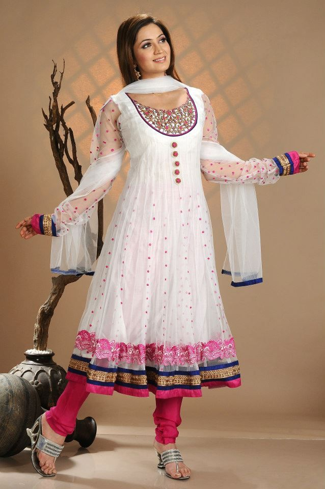 This is the image gallery of Indian Anarkali Frocks Designs Collection 2014. You…