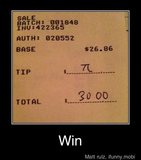Sarah, and Nevan, this is for you; additionally, I still hate math and that is a terrible tip.