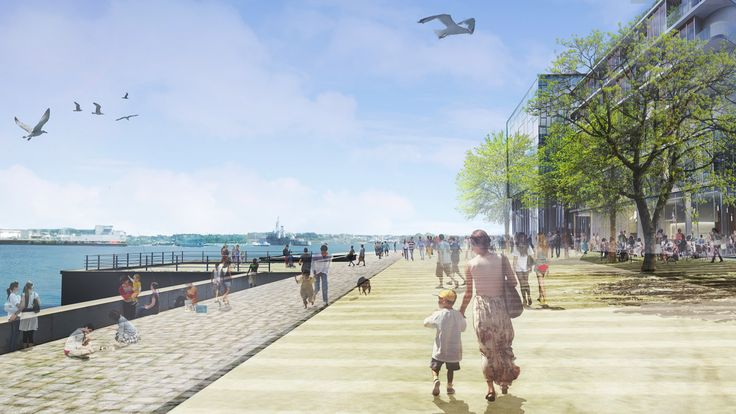 LORIENT / Péristyle joint development zone