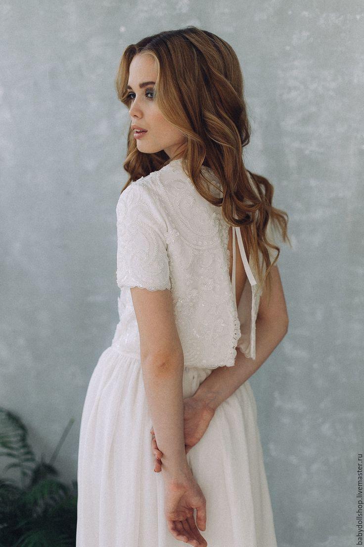 Wedding Dress | Платье SS17 , свадебное платье, белое платье, кружевное платье – купить в интернет-магазине на Ярмарке Мастеров с доставкой