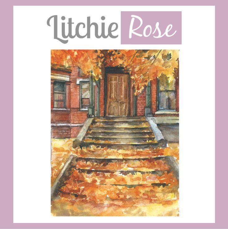 Bonjour Octobre ! #LitchieRose #montréal