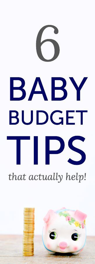 Baby budget tips (print these out and give them with a gift card at a friend or relative's baby shower)