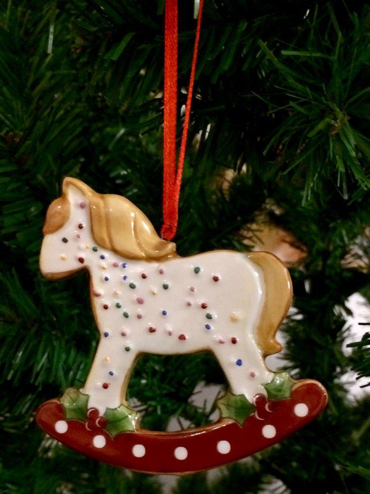 Рождественская фарфоровая игрушка🎄🎄🤗