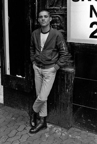 Skinhead 1981 Leicester Square Derek Ridgers