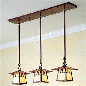 Craftsman pendant lights for kitchen counter